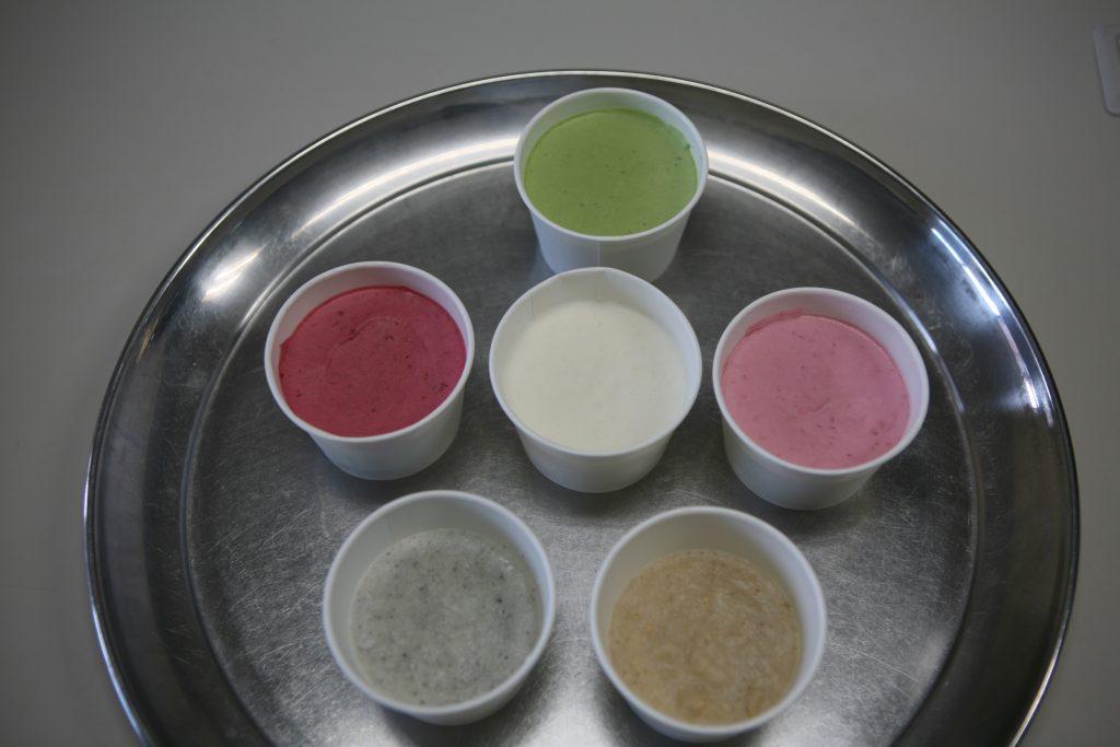 色々なアイス作りました
