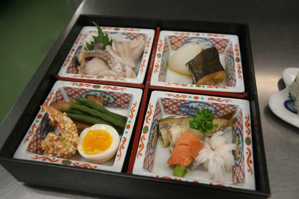 松花堂弁当で締めくくりました!